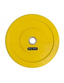 Disco Olimpico En Goma 25Lb...